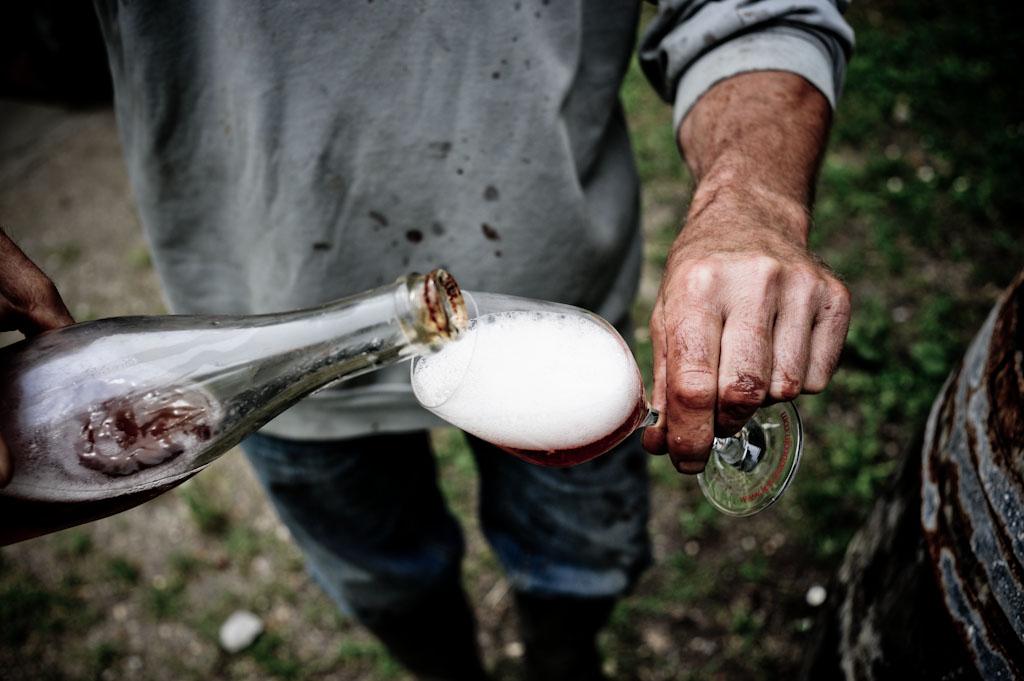 Con Bruno Allion a Thesee in Loira a selezionare vini naturali e terroir magici