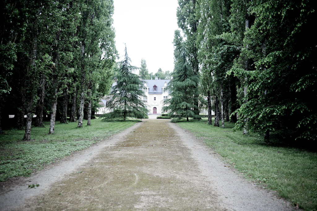 Lo Chateau de Troussay, anticamente proprietario dei vigneti che ora coltiva Laura Semeria