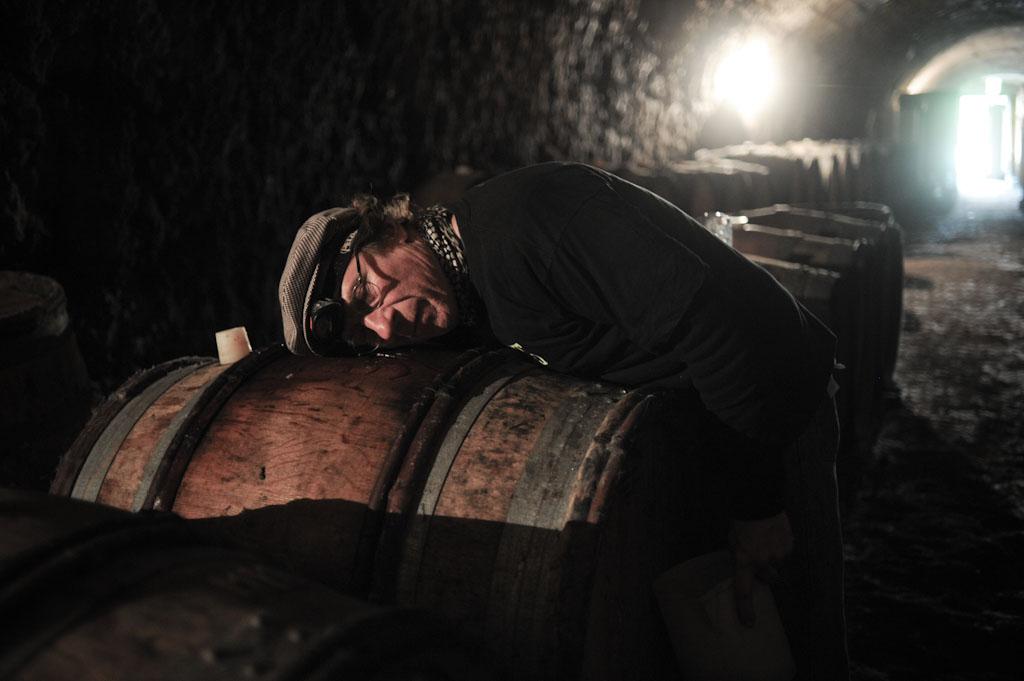Jean Pierre Robinot ascolta la fermentazione della malolattica
