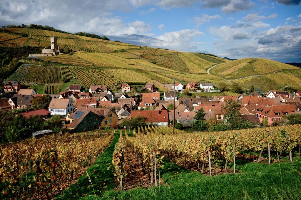 Il Villaggio di Katzenthal, dove si trovano i vigneti di Meyer Fonnè