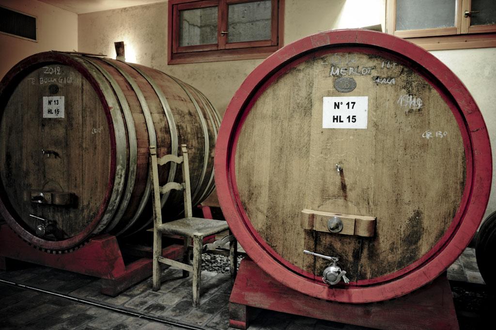 La cantina di Paraschos, vini naturali del Collio