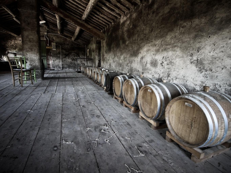 Il Granaio per l'affinamento del vin santo di Stefano Menti