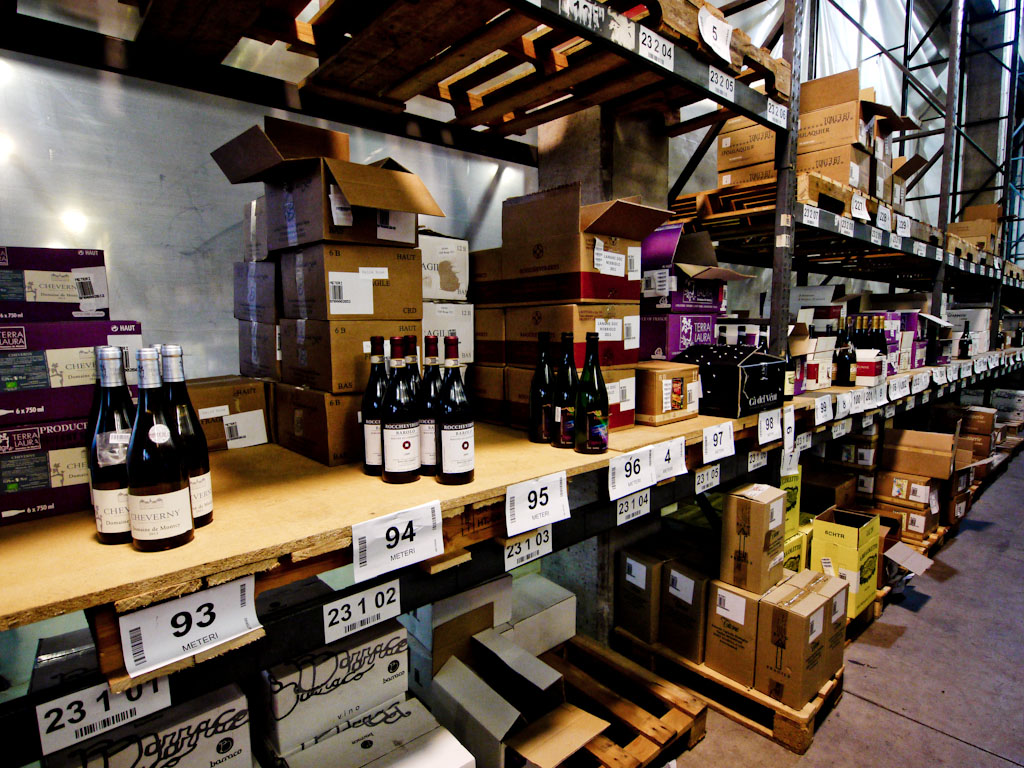 Il Magazzino Meteri dove sono custoditi i nostri vini naturali