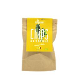 Chips di cavolo nero mostarda e miele gr. 14 - La Ginestra