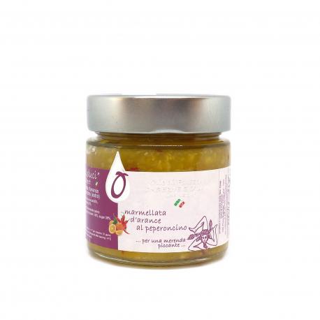 Marmellata di Arance al Peperoncino 212 ml - Fousseni