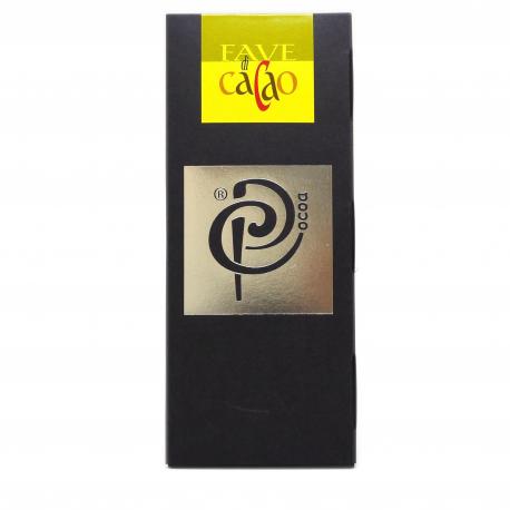 Tavoletta di cioccolato fondente 70% con fave di cacao - P. Cocoa