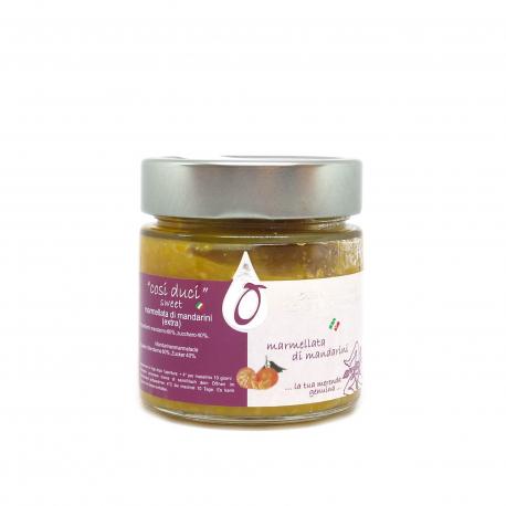 Marmellata di Mandarini 212 ml - Fousseni