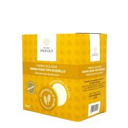 Farina di Grano Duro Russello Box 4 pz da 1 Kg  - Mulino Angelica