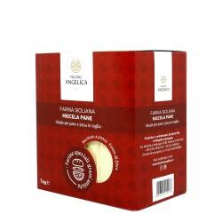 Farina mix di Grani antichi siciliani Box 4 pz da 1 Kg - Mulino Angelica