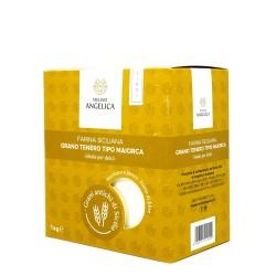 Farina di Grano Tenero Maiorca Box 4 pz da 1 Kg   - Mulino Angelica