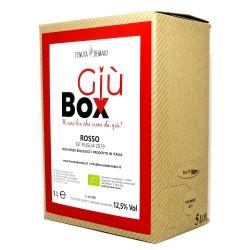 GIUBOX Baginbox 5L Rosso Igp Puglia 2019 -  Tenuta Demaio