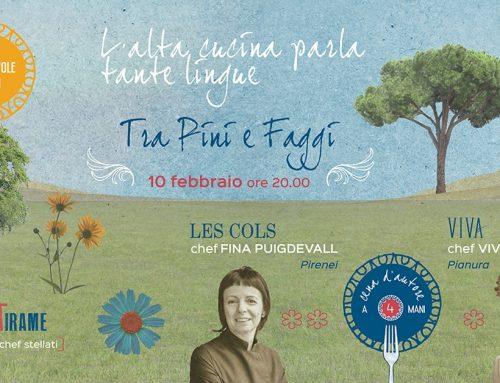 I Vini Meteri alla cena di Fina Puigdevall e Viviana Varese presso lo Spazio Battirame