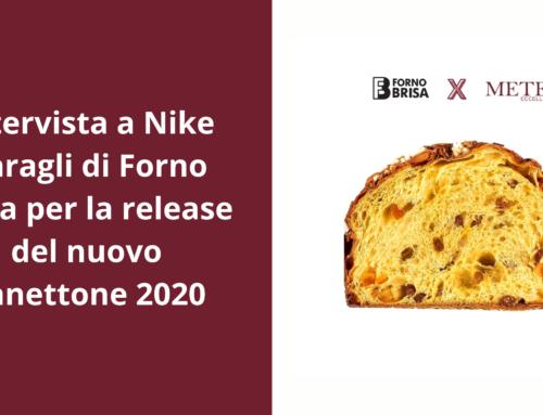 Intervista con Forno Brisa: Nike Baragli racconta la release del Panettone 2020