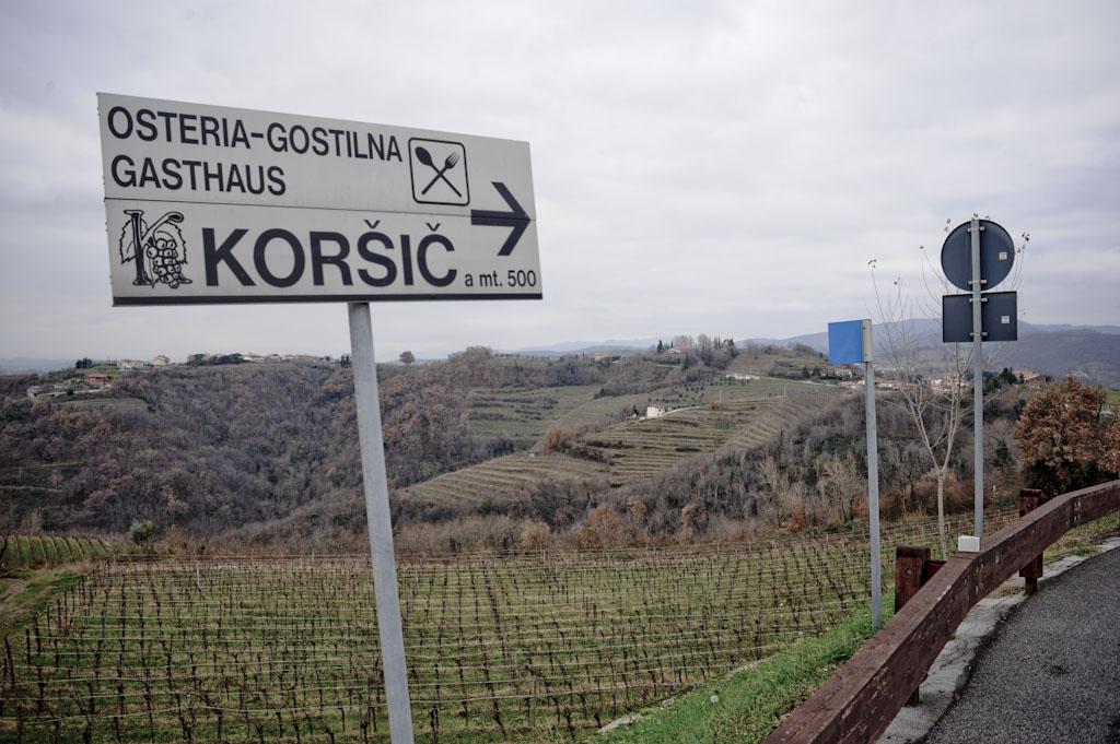 Il Collio dei vini naturali di Paraschos
